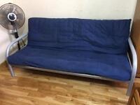 METAL FUTON SOFA BED WITH MATTRESS