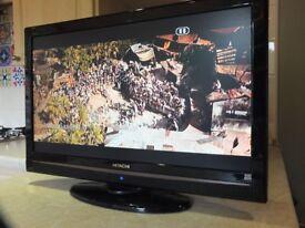 "Hitachi 22"" HD TV DVD"