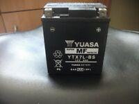 Yuasa motorcycle battery like new £25 bargain