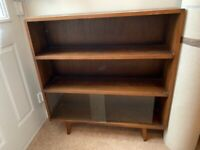 Compact 1950's bookcase