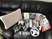 Wii mario and wii fit bundle