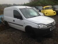 Breaking Vauxhall Combo 1.3cdti diesel manual, white, 2006, in good condition