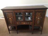 Antique Display Cabinet Sideboard