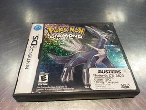 Pokemon Diamond For Nintendo DS. We Sell Used Video Games! (#5820) We Carry, Play Station, Xbox, Nintendo, Atari, Etc.