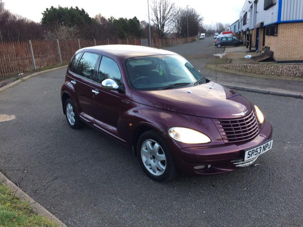 2003 53 chrysler pt cruiser 2 2 crd px bargain to clear. Black Bedroom Furniture Sets. Home Design Ideas