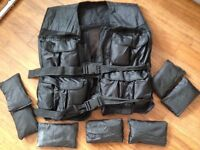 30kg Weighted Vest by Gorilla Sports