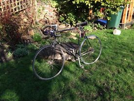 Bicycle Retro Raleigh 24 inch frame