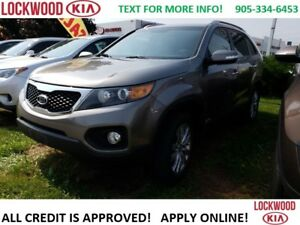 2011 Kia Sorento EX -V6 AWD LEATHER, REARVIEW CAM, HEATED SEATS