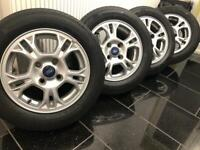 Ford Fiesta/ford transit courier alloy wheels mint condition