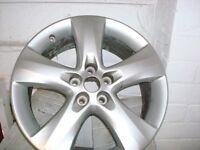 17 alloy wheels Astra New shape