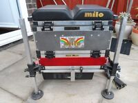 MILO - FISHING SEAT BOX SYSTEM - ONLY USED A HANDFUL OF TIMES