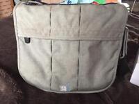 Baba bing grey change bag with mat