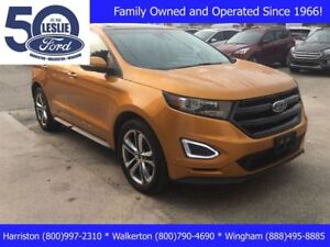 2015 Ford Edge Sport   Heated/ Cooled Seats