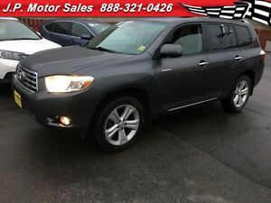 2009 Toyota Highlander Limted, Leather, Sunroof, Third Row Seati