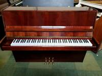 *THE LITTLE PIANO STORE* NIEMEYER HIGH GLOSS MAHOGANY UPRIGHT PIANO