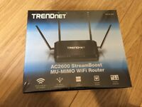 AC2600 StreamBoost MU-MIMO WiFi Router - BRAND NEW & SEALED
