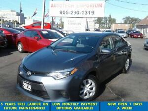 2014 Toyota Corolla LOW KM All Pwr/Bluetooth&GPS*$45/wkly