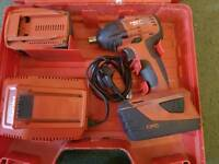 Hilti Siw 22-a used impact wrench set