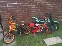 X4 kids bikes
