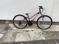 Apollo Vivid girls bike 24 in wheels 12 in frame 18 gears Eastwood Nottinghamshire