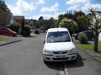 just de fleeted from a major company vauxhall combo 1700 se diesel van fold down rear seat