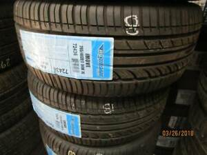 205/40R17 SET OF 8 NEW IRONMAN I MOVE XL A/S TIRES