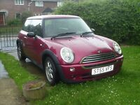 mini one 7 2006 swap for campervan..transit size..