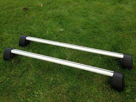 Roof bars, genuine Vauxhall Zafira B, good condition, aluminium.