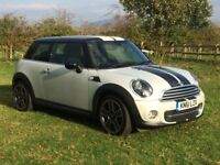 MINI COOPER 1.6 SOHO LIMITED EDITION 2011 LOW MILEAGE FSH CRUISE HALF LEATHER BLUETOOTH PX WELCOME