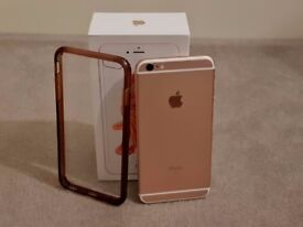 Apple iPhone 6S Plus 64GB Rose Gold Unlocked Mint Condition Like New