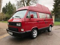 VW T25 / T3 Vanagon Westfalia Atlantic High Top Campervan