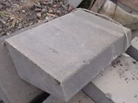 Large Angled Tapered Granite Curb Stones (£25+VAT Each) 600 x 380 x 240