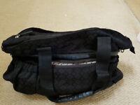 Change bag, lots of storage, matching change mat + free baby bib