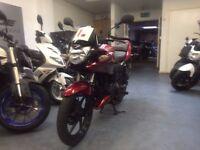 Honda CBF 125cc Manual Commuter, 2014 Model, Red, 1 Owner, ** Finance Available **