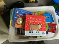 Books of baby/toddler box's