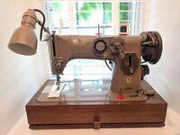 Very Rare Singer 316g Sewing Machine Working