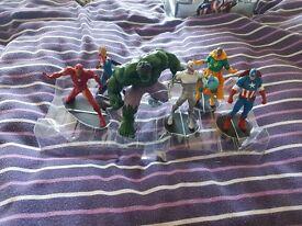Avengers age of ultron figures x6