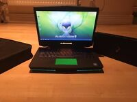 ALIENWARE M14X GAMING LAPTOP, 500 SSD + 6 GB RAM + 64 GB EXTREME PRO + FREE BAG, XMAS SALES!!