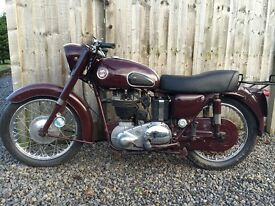 Ariel NH350 1957 Classic Motorcycle