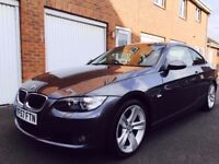 2007 07 BMW 3 Series Coupe 320d 177bhp Manual++FSH++Leather++Xenons not 330d 335 scirocco gti golf