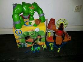 Imaginext Ogre and Wizard Castle
