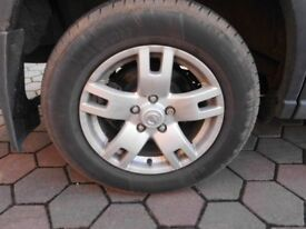 """WANTED 16"""" ALLOY WHEEL 5 HOLES."""