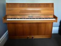 Kemble upright piano, 7 octaves
