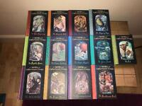 Series of unfortunate events - all 13 books