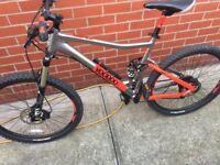 Voodoo canzo full suspension bike