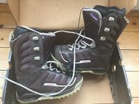 K2 Luna Women's Snowboarding Boots UK Size 5.5. Chocolate Brown. Immaculate condition.