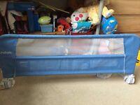 Lindam blue bedrail-excellent condition