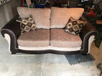 2 seater DFS sofa bed, like new.