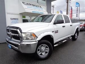2014 RAM 2500 SXT Crew 4x4, Air Suspension, Rev Camera, Sensors