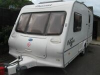 2003 bailey pageant with full awning and motor mover